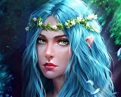 Fantasy Hair Woman Character Elf Owl Female