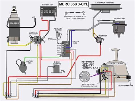 Marine 50 Wiring Diagram by 50 Hp Mercury Outboard Wiring Diagram Wiring Forums