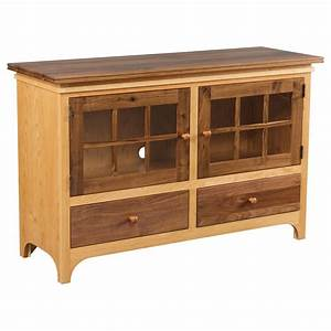 Walnut Creek Collection TV Stand Two Tone Amish Crafted