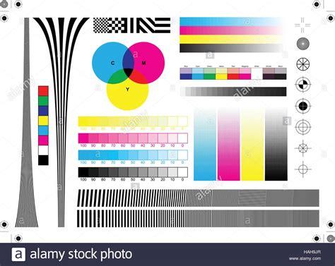 Calibration Printing Marks Stock Vector Art & Illustration