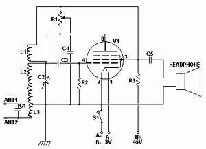 one tube regen radio circuit repository nextgr With valve radio circuit