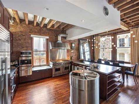 deco cuisine appartement decoration brique style loft yorkais