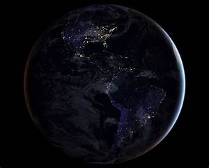 Global maps of Earth at night released by NASA ...