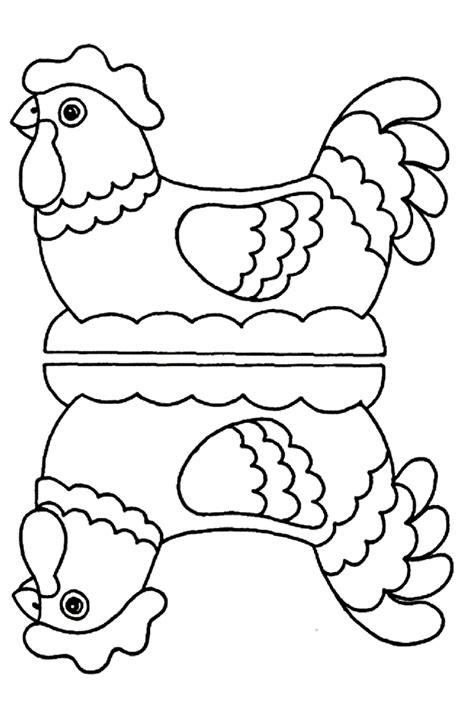 len van papier mache knutsels voor aan de paastafel
