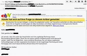Mahnung Ohne Rechnung : 5 rechnung bei ebay quest ccc ~ Themetempest.com Abrechnung