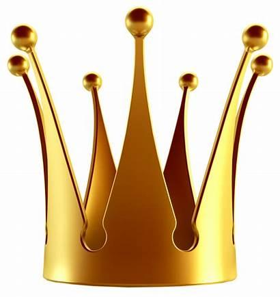 Crown Gold Transparent Clipart Crowns Background Clip