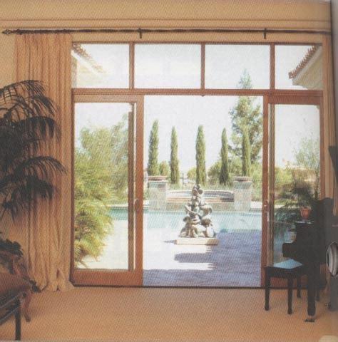 telescoping sliding patio doors weather shield smart