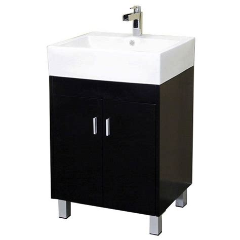 home depot bathroom sink tops bellaterra home bradford 23 in single vanity in dark