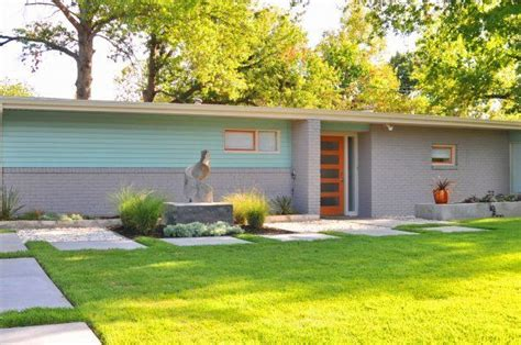 mid century modern exterior house colors lortondale mid