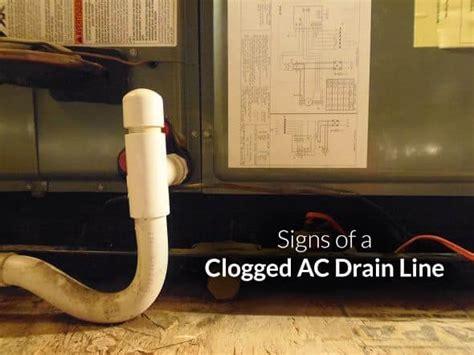 signs   clogged ac drain  st louis hvac tips