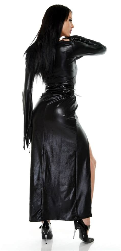 mistress  midnight costumes haunted house outfit
