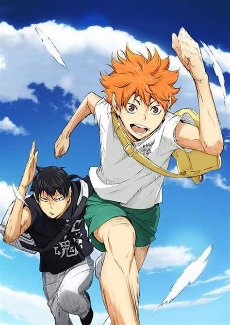 anime haikuu season  release date   key visual