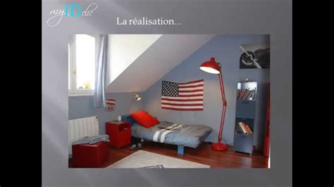 d 233 co chambre ado gar 231 on drapeau usa