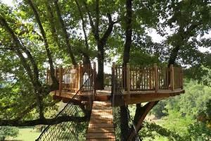 Constructeur Cabane Dans Les Arbres : la terrasse ch ne nidperch constructeur de cabane ~ Dallasstarsshop.com Idées de Décoration