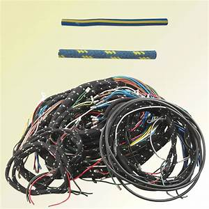 Jaguar Wiring Harness  Early Xk-120  Braided