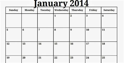 printable calendar template free printable calendar free printable calendar january