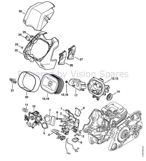 Diagram Of Stihl Tiller Engine by Ms 440 Parts Diagram Downloaddescargar