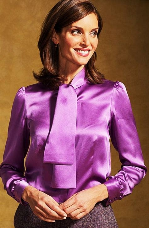purple blouse womens satin blouses purple satin blouse