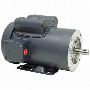 1 5 Hp 1800 Rpm 115  230 Volt Ac 56c Tefc Leeson Motor W