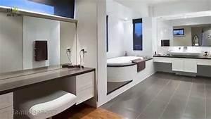 Exemple Petite Salle De Bain : modele de salle de bain moderne peinture faience salle ~ Dailycaller-alerts.com Idées de Décoration
