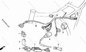 Honda Motorcycle 1994 Oem Parts Diagram For Wire Harness