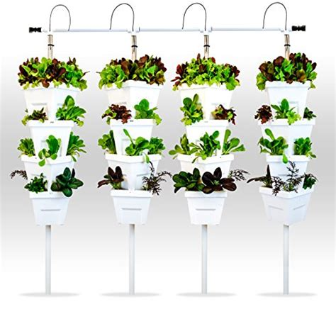 Vertical Hydroponic Garden by Vertical Hydroponic Diy 4 Tower Garden System Buy
