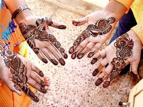 Mehndi Designs For Hands : Pakistani Mehndi Designs For