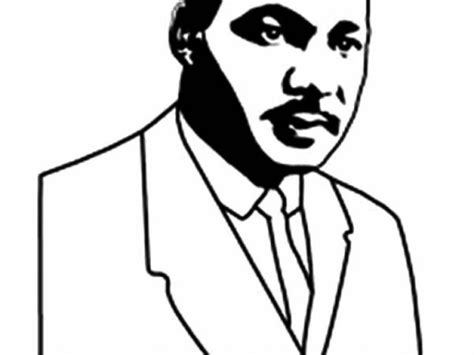 91 Mlk Coloring Pages Free Martin Luther King Jr