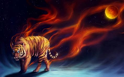 Digital Tiger Wallpaper by 1920 X 1200 Hd Most Beautiful Free Wallpapers