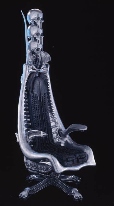 Giger Harkonnen Capo Chair by H R Giger Chair Cool Stuff Xenomorph