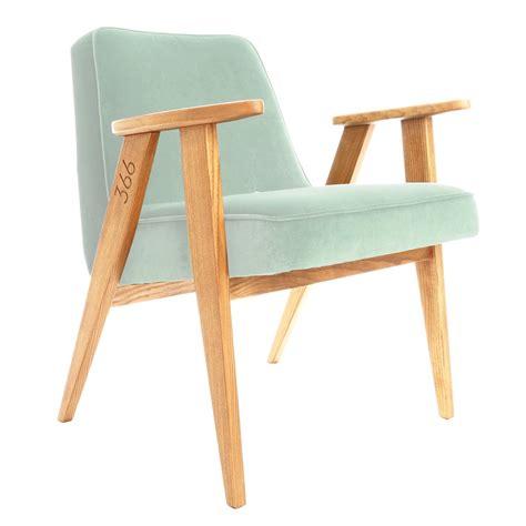 fauteuil design velours mint vert d eau 366 concept
