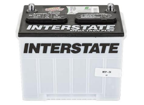 Interstate Mega-tron Plus Mtp-24 Car Battery