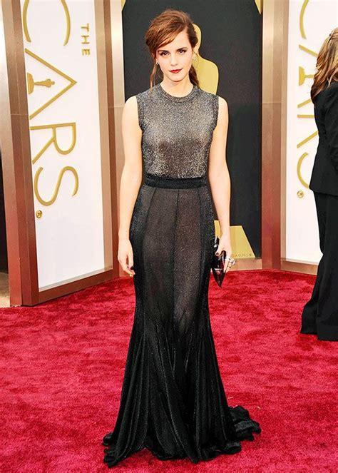 Oscars Emma Watson Vera Wang Prom Ooh