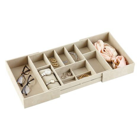 Stackers Large Expandable Jewelry Storage Tray The