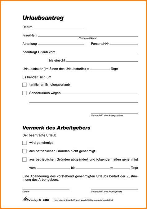 Formular Kostenlos by 15 Urlaubsschein Vorlage Fred The Mustard Packet