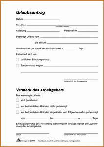 Einverständniserklärung Urlaub Unter 18 Vorlage : 5 urlaubsantr ge vorlage avant trash ~ Themetempest.com Abrechnung