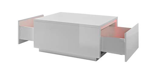 table basse carree avec rangement maison design bahbe