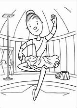Circus Coloring Pages sketch template