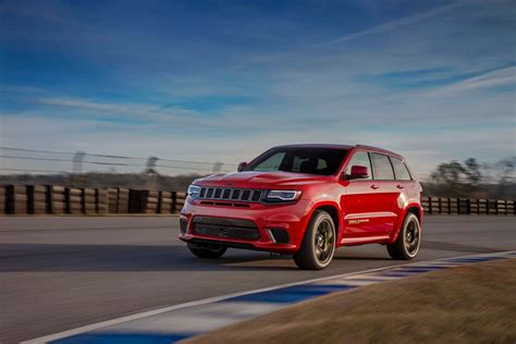 jeep grand cherokee 2018 jeep grand cherokee trackhawk is a 707 hp all wheel