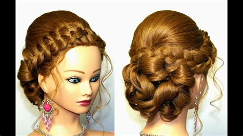 wedding prom hairstyles  long hair updo hairstyles