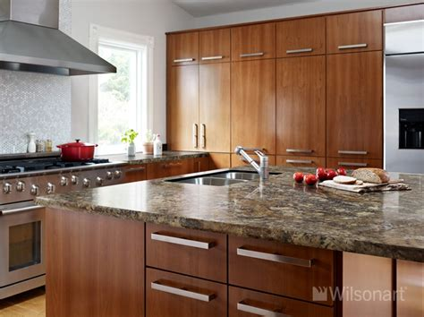This Beautiful Kitchen Features Our New Wilsonart® Hd