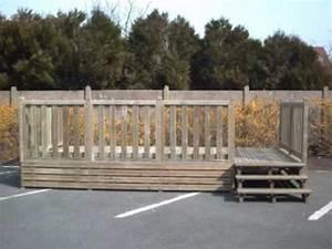 Poids D Une Stère De Bois : montage d 39 une terrasse en bois pour mobil home prokit by ~ Carolinahurricanesstore.com Idées de Décoration