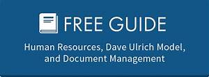 human resources dave ulrich model and document With human resources electronic document management