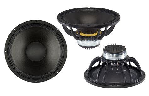 "B&c Speakers New 13.5"" Woofers And Coax Speakers Range"