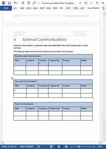 schedule matrix template communication plan template ms word excel templates