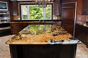 Magma Gold Granite - Traditional - Kitchen - DC Metro - by