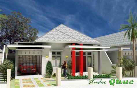 desain rumah modern tropis studeo qhue