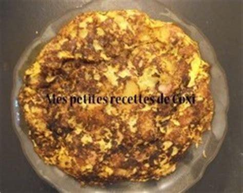 omelette aux pommes de terre lardons et tomme de montagne