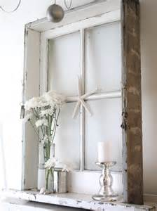 Shabby Chic Old Window Frame Ideas