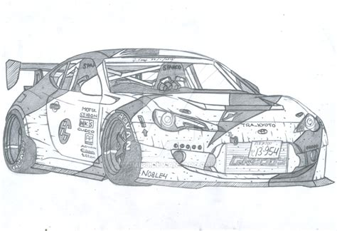 Tra_kyoto Toyota 86 By Jmig3 On Deviantart